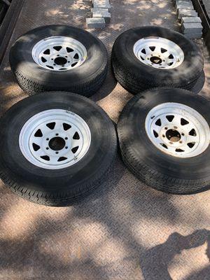 White spoke wheels for Sale in Longwood, FL