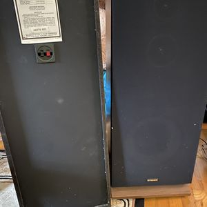 Fisher Vintage Stereo System/Speakers (read Description) for Sale in Falls Church, VA