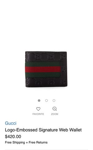 A real Gucci wallet for sale for Sale in Philadelphia, PA