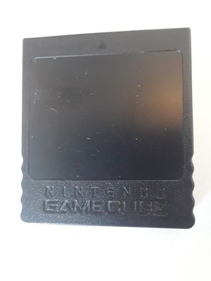 Nintendo Gamecube Memory Card Full of Game Saves for Sale in Keizer, OR