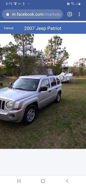 2007 Jeep Patriot for Sale in Palatka, FL