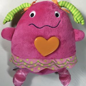 2012 SASSY Plush Musical Lullaby Light Up Heart for Sale in Terrell, TX