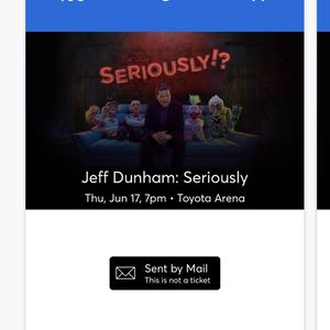 Jeff Dunham:Seriously for Sale in Placentia, CA