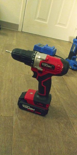 Hyper tough 20 volt cordless drill for Sale in Arlington, TX
