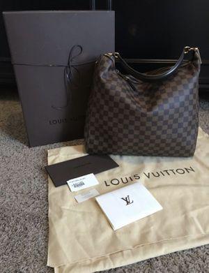 LOUIS VUITTON Damier Ebene Portobello Handbag for Sale in Phoenix, AZ