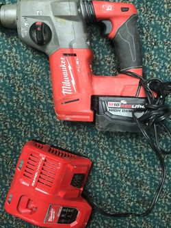 Hammer Drill, Tools-Power Milwaukee W/9.0 Battery W/Charger for Sale in Baltimore,  MD