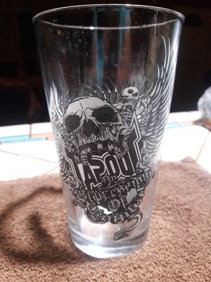 Tapout beer glass for Sale in Phoenix, AZ
