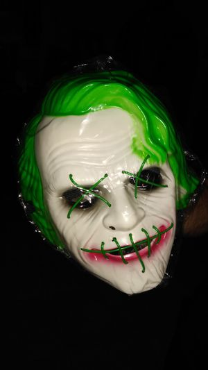 Led mask halloween for Sale in El Mirage, AZ