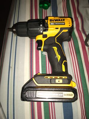 "DeWALT 1/2"" HAMMER DRILL WITH BATTERY. ****NEW***** for Sale in Lake Shore, MD"