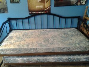 Twin bed with trundle for Sale in Tempe, AZ