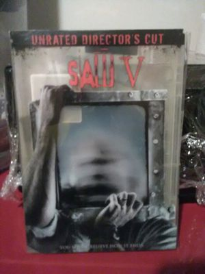 Saw V Unrated Director's Cut DVD for Sale in The Bronx, NY