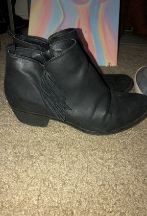 Blank Fringe Ankle Booties for Sale in Phoenix, AZ