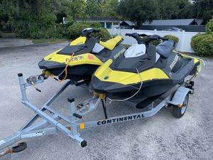Two 2017 Seadoo sparks low hours for Sale in Seffner, FL