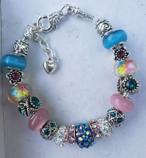 Multi color charm bracelet 1 for $15 or 2 for $25 for Sale in Baltimore, MD
