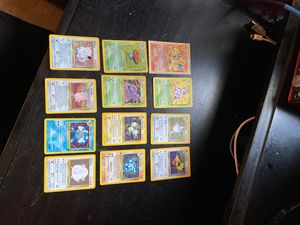 Pokemon card collection 1st gen for Sale in Spring Valley, CA
