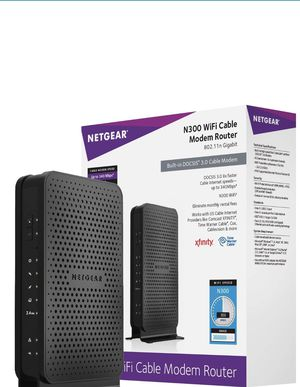 Netgear N300 WiFi Cable Modem Router for Sale in San Francisco, CA