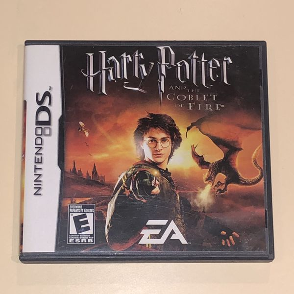 Nintendo DS Harry Potter and the Goblet of Fire Game New