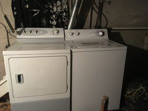 GE washer AMANA dryer for Sale in Portland, OR