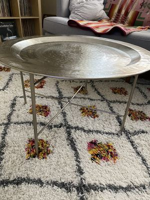 Antique Nickle Coffee Table for Sale in Oakland, CA