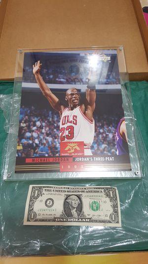 Michael Jordan Jumbo card for Sale in Woodway, WA