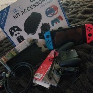 Nintendo Switch Plus Accessories for Sale in Fresno, CA