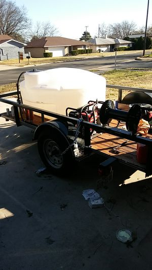 6 by 10 utility trailer with drop-down ramp for Sale in Killeen, TX