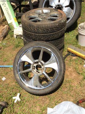 18 in Chrome Rims for Sale in Decatur, GA