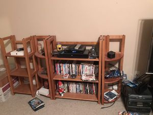 Wooden Collapsible Bookshelves for Sale in Simpsonville, SC