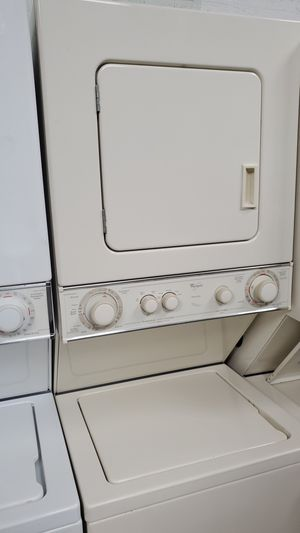Washer and dryer whirlpool Combo 24inches (beige) for Sale in Hialeah, FL