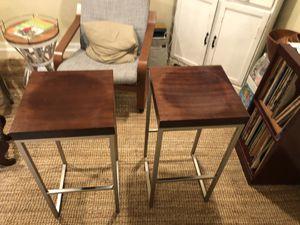 Bar stools -west elm for Sale in Washington, DC