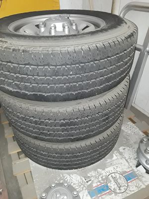 2017 ram 2500 rims and tires for Sale in Plantation, FL