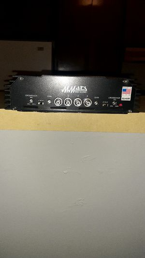 Mmats SQ 4100 4 channel amplifier sundown audio dc audio dd audio digital designs Rockford fosgate for Sale in Riverside, CA