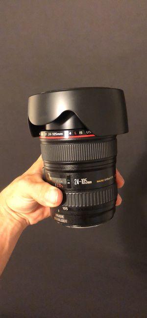 Canon 24-105 f/4 USM L IS Series Lens for Sale in Atlanta, GA