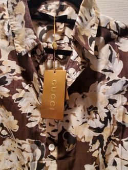 Gucci design floral shirt for Sale in Vancouver,  WA