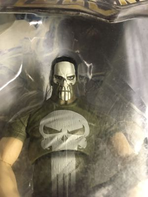 Marvel Legends Punisher Variant Walmart Exclusive Action Figure Toy Collectabile for Sale in El Paso, TX