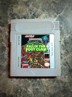 TMNT Fall of the Foot Clan... for Sale in Portland, OR