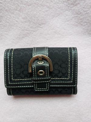 Small Black Coach Wallet for Sale in Avondale, AZ