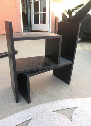 Stacking Small Desk Shelf Black for Sale in Burbank, CA