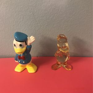 Disney Collectible Donald Duck Figurines Ceramic And Lucrite for Sale in Des Plaines, IL