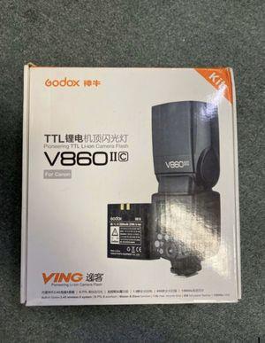 Godox Camera flash V860 Canon, Nikon , Sony , Fuji for Sale in Brooklyn, NY