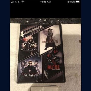 4 Film Collection Blade DVD for Sale in Fort Lauderdale, FL