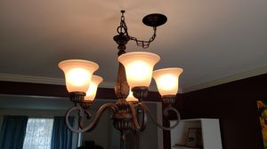 Chandelier dinning room light for Sale in Federal Way, WA