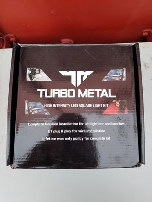 Turbo metal lights jeep wrangler for Sale in Los Angeles, CA