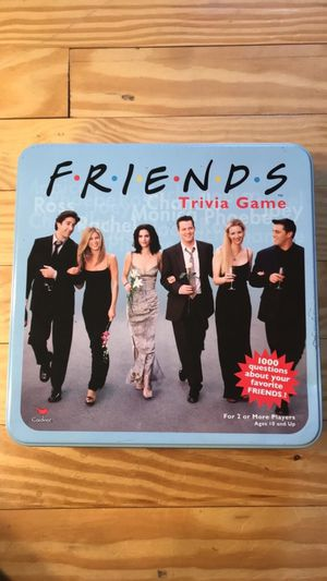 Collectible Friends Trivia Game for Sale in Lynchburg, VA