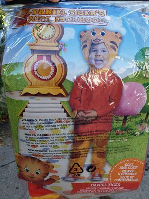 Daniel Tiger 2T Halloween Costume for Sale in Minneapolis, MN