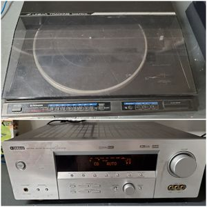 Yamaha Receiver + Pioneer Turntable for Sale in Spring Valley, CA