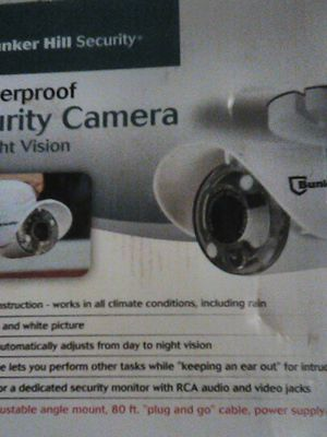 Bunker Hill security camera for Sale in Fresno, CA