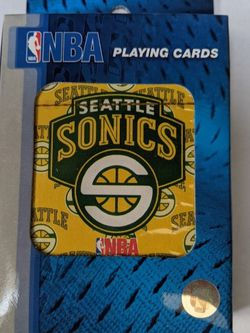 Seattle Supersonics Deck Of playing Cards for Sale in Seattle,  WA