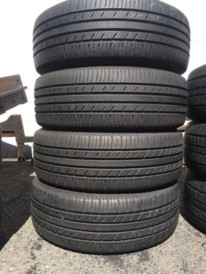205/60/16 Michelin set of used tires in great condition 70% tread 175$ for 4 . Installation balance and alignment available. Road force balance avai for Sale in Union, NJ