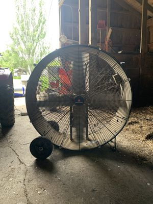 """36"""" portable barrel fan for Sale in Perry, OH"""